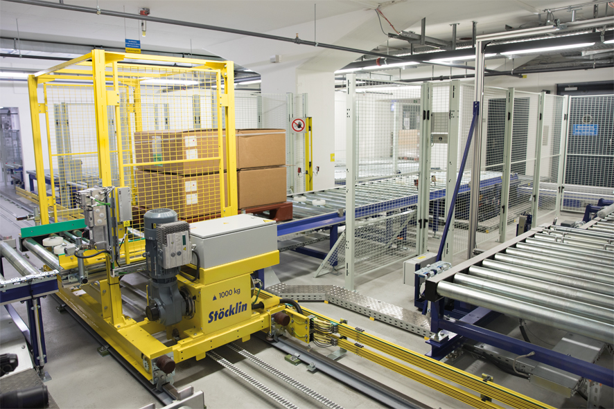 Using an ASRS in Manufacturing Environments